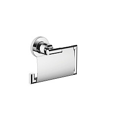 Dornbracht Tara Toilet Roll Holder With Cover