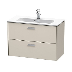 C.P. Hart Brioso 2-Drawer Vanity Unit 820 x 389mm