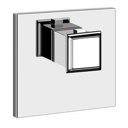 Gessi Eleganza Thermostatic Mixer With Square Back Plate