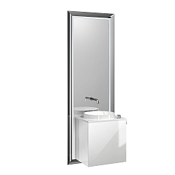 Touch Pure All-In-One Unit with Optiwhite Doors