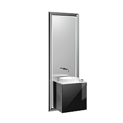 Touch Pure All-In-One Unit with Black Doors
