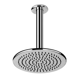 Gessi Goccia Round Shower Head  & Ceiling Mounted Arm
