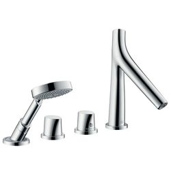 Hansgrohe Axor Starck Organic 4-Piece Thermostatic Bath Filler