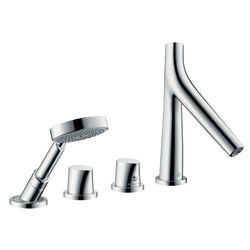 Axor Starck Organic 4-Piece Thermostatic Bath Filler