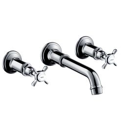 Hansgrohe Axor Montreux Wall-Mounted 3-Piece Basin Mixer