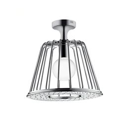 AXOR Nendo 1 Jet Ceiling-Mounted Shower Head with Lamp