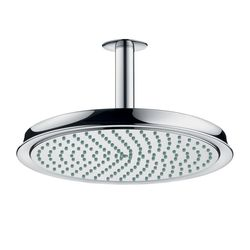 Hansgrohe Raindance C Round Air  Shower Head with Ceiling Mounted Arm