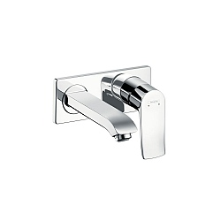 Hansgrohe Metris Wall-Mounted Basin Mixer