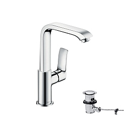 hansgrohe Metris Tall Single Lever Basin Mixer