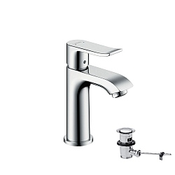 Hansgrohe Metris 100mm Single Lever Basin Mixer