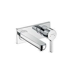 Hansgrohe Metris S Wall-Mounted Basin Mixer