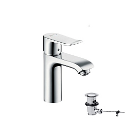 Hansgrohe Metris 110mm LowFlow Single Lever Basin Mixer