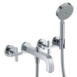 Hansgrohe Axor Citterio 3-Piece Cross Handle Bath Filler