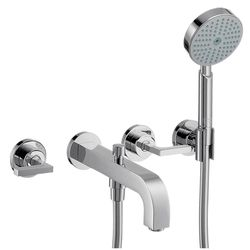 Hansgrohe Axor Citterio 3-Piece Lever Handle Bath Filler