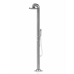 JEE-O Fatline Freestanding Thermostatic Shower Mixer And Handshower