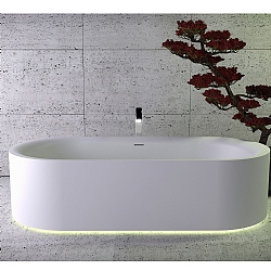 K-Stone Moon Freestanding Bath