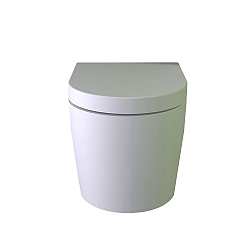 K-Stone Pearl Wall-Mounted WC with Soft-Close Seat