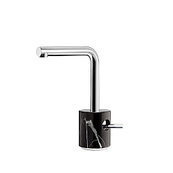 Marmo L Mono Basin Mixer Black