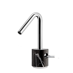 Marmo Mono Basin Mixer Black