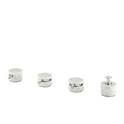Marmo 4-Piece Bath Filler White