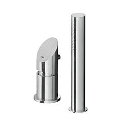 MGS Bath Filler Shower Mixer With Pull-Out Handshower