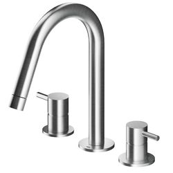 MGS 3-Piece Basin Mixer Spout Matt