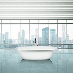 Aquamass Modulo Uovo Freestanding Bath