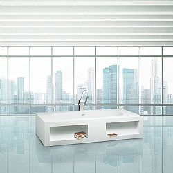 Aquamass Modulo Biblio Freestanding Bath