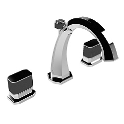 Petracer Divino Ultra 3-Piece Basin Mixer With Tassel Detail