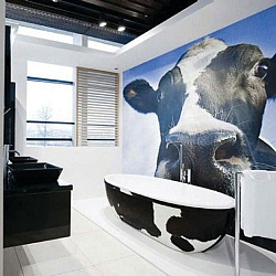Stone One Moo Cow Freestanding Bath