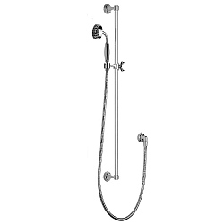 Samuel Heath Style Moderne Slide Rail Kit & Handshower