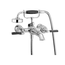 Samuel Heath Style Moderne Bath Shower Mixer Wall-Mounted