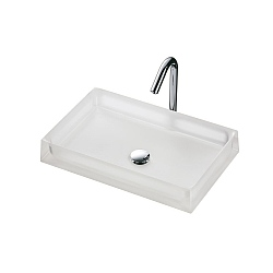 TOTO Luminist Square Washbowl 500mm