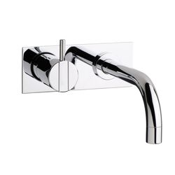 Vola 112 Wall-Mounted Basin Mixer & Plate