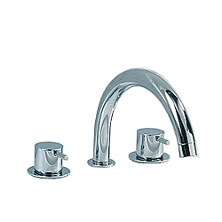 Vola SC8 Dual Control Swivel Spout Bath Filler