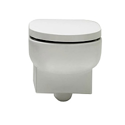 Bisazza Wanders Wall-Mounted Toilet
