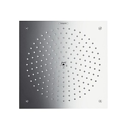 Hansgrohe Raindance Square Concealed Ceiling Mounted Shower Head