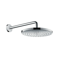 hansgrohe Raindance Select S 2 Jet Shower Head & Wall Mounted Arm