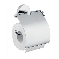 hansgrohe Logis Toilet Roll Holder With Lid