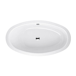 Bette Home Oval Steel Inset Bath
