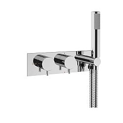 Crosswater Mike Pro Thermostatic Shower Valve with Handshower Set
