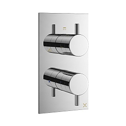 Crosswater Mike Pro Thermostatic Shower Valve for Three Outlets