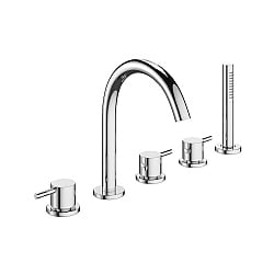 Crosswater Mike Pro 5-Piece Bath Shower Mixer