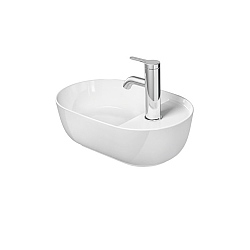 Duravit Luv Washbowl 420mm With Tap Platform