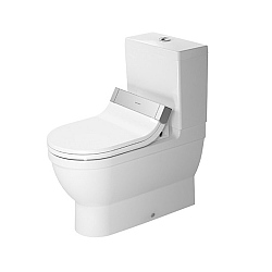 Duravit Starck 3 Close-Coupled Pan For SensoWash