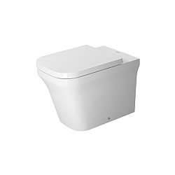 Duravit P3 Comforts Back-To-Wall Rimless Toilet