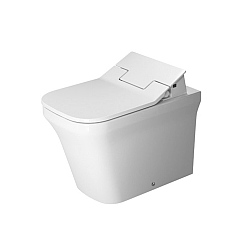 Duravit P3 Comforts Back-To-Wall Pan For SensoWash