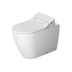 Duravit ME by Starck Back-To-Wall Pan For SensoWash