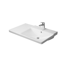 Duravit P3 Comforts Right Hand Asymmetric Furniture Washbasin