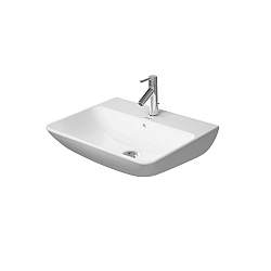 Duravit ME by Starck Washbasin 600mm Satin Matt White